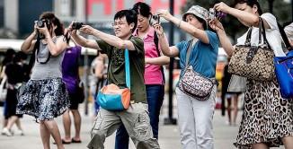 Turisti cinesi.