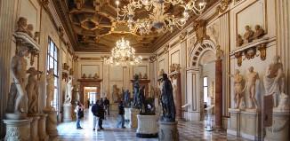 Roma, una sala dei Musei Capitolini.