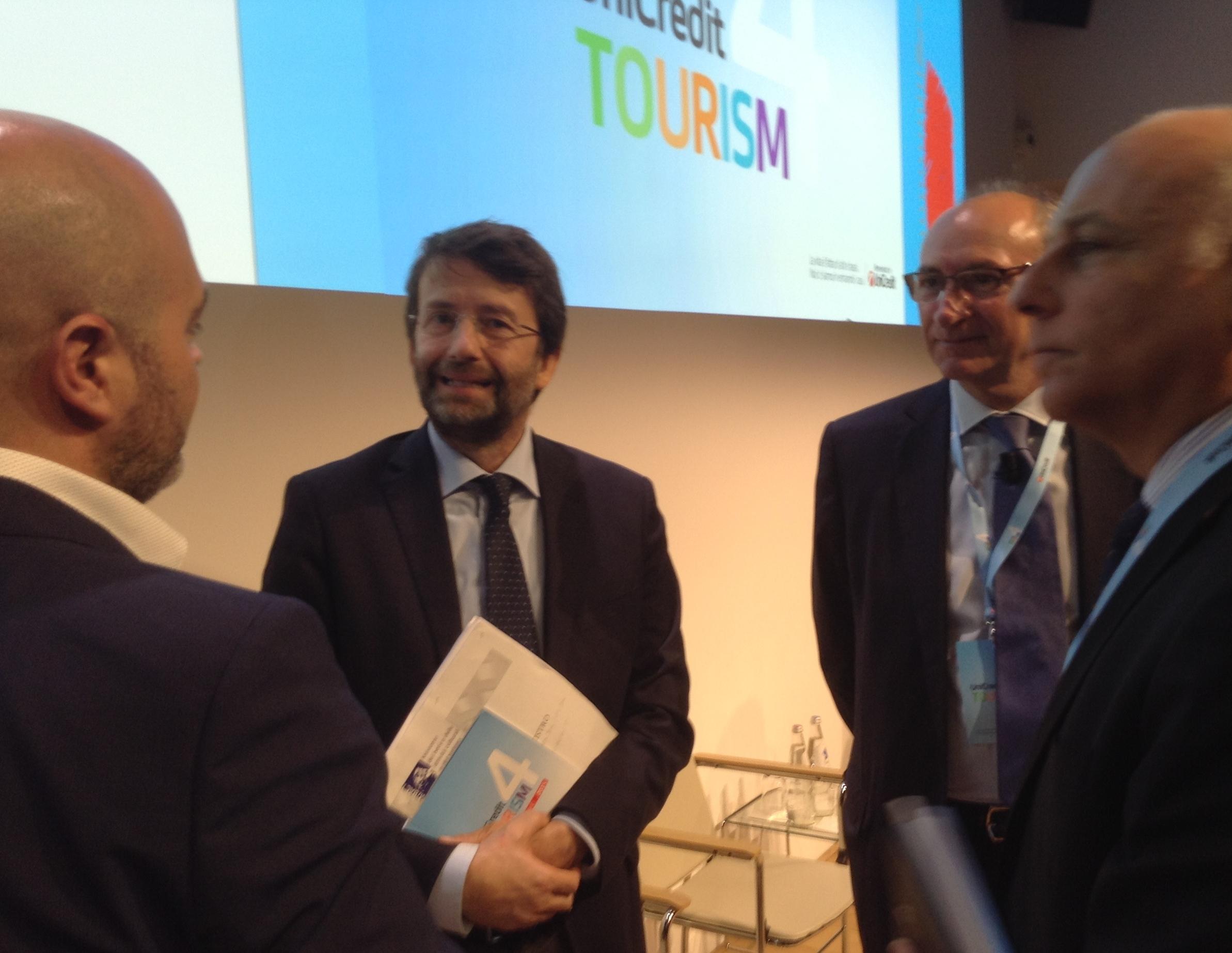 il ministro della cultura e del turismo Dario Franceschini