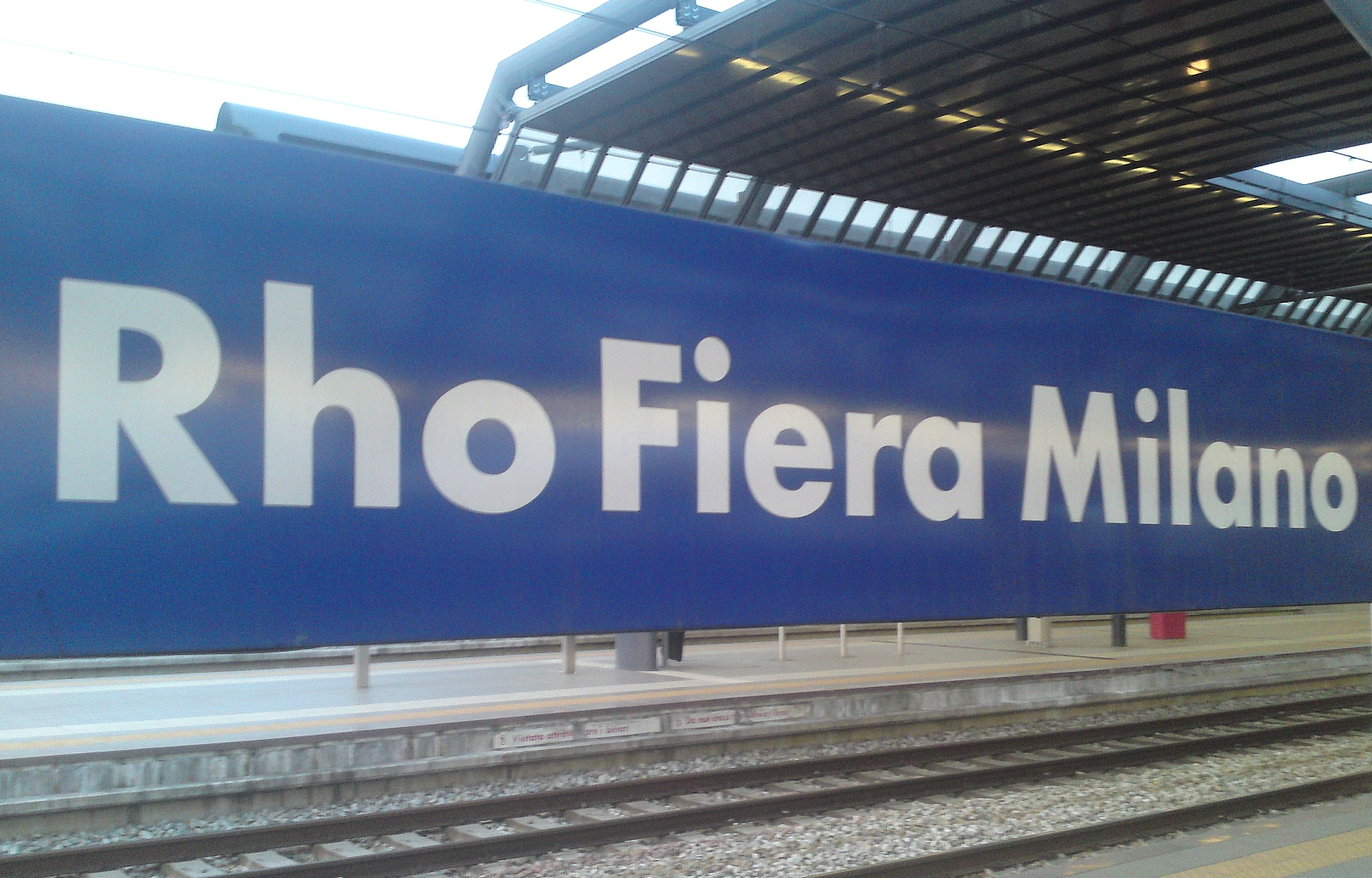La stazione di Rho Fiera Milano Trenitalia