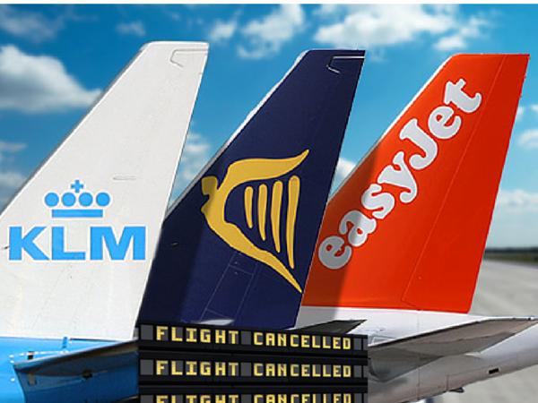 Sciopero controllori di volo in Francia dell'8 aprile: i voli cancellati di ryanair easyjet air france hop e klm
