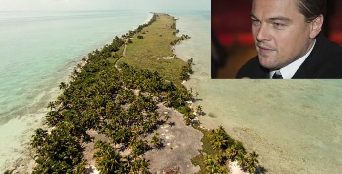 L'isola di Leonardo Di Caprio in Belize