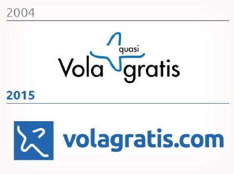 Il nuovo logo di volagratis