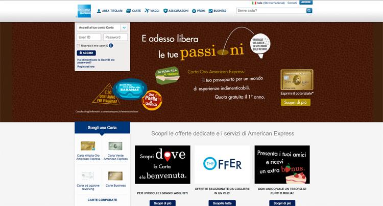 american express viaggi sceglie payback webitmag web in travel magazine. Black Bedroom Furniture Sets. Home Design Ideas