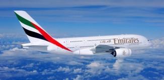 Un aereo Emirates.