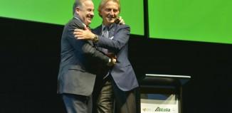 Luca Cordero di Montezemolo e James Hogan