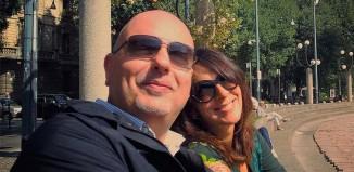 Anna D'Oriano e Marco Meneghetti