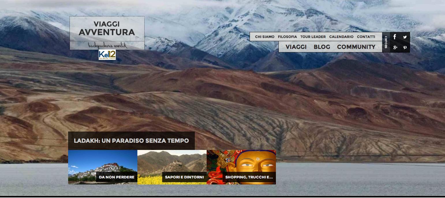 Kel 12 Calendario Viaggi.Kel 12 Online Il Sito Di Viaggi Avventura Webitmag Web