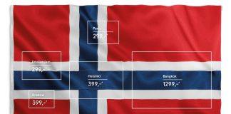norwegian airlines flag