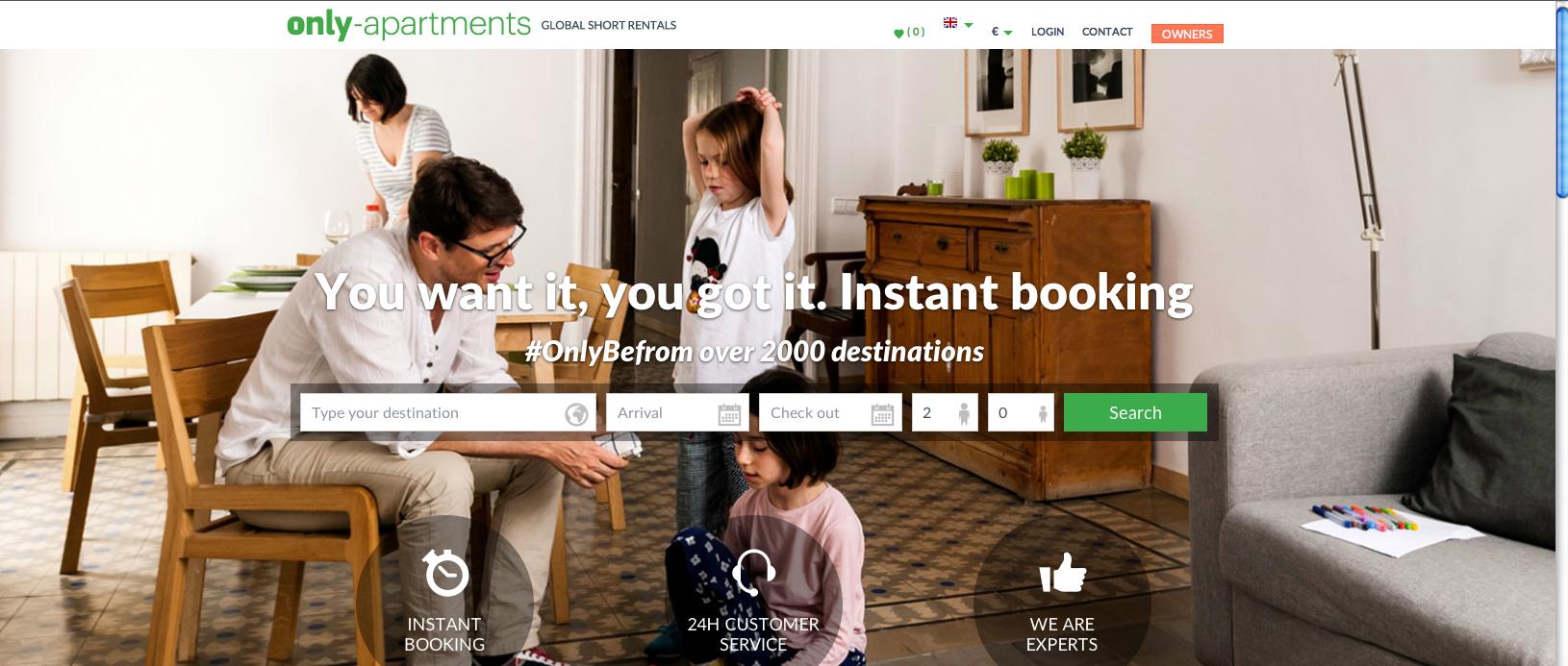 Only-apartments lancia un nuovo sito web con oltre 130mila ...