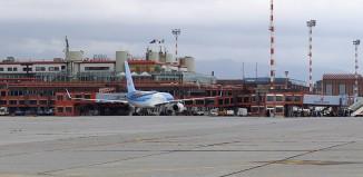 L'aeroporto Cristoforo Colombo di Genova.