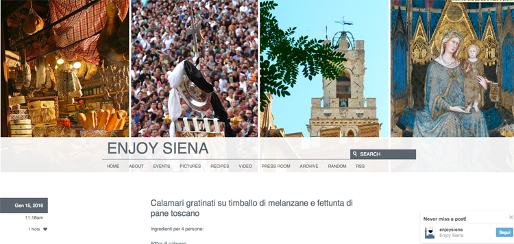 Tassa di soggiorno per promozione turistica: Siena esempio ...