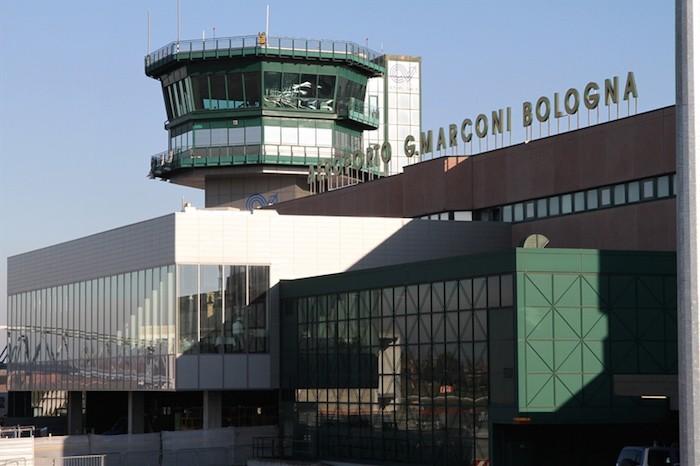 Il terminal passeggeri dell'Aeroporto di Bologna