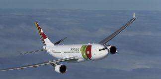 Un aereo TAP Portugal.