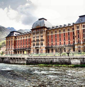 Il Grand Hotel di san Pellegrino Terme (BG).