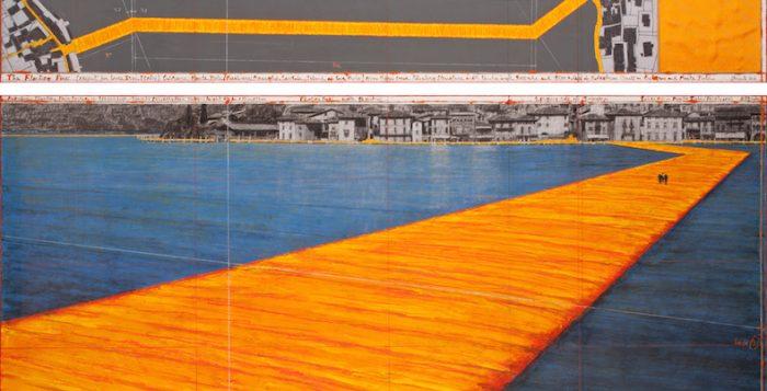 Il progetto di The Floating Piers di Christo