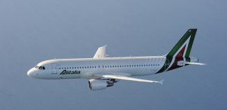 Un A320 di Alitalia