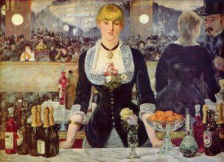 Il bar delle Folies-Bergère di Edouard Manet