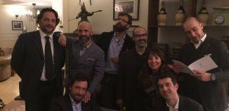 Il team IHF - Italian Hotels & Friends. Al centro, il presidente Emanuele A. Bonotto