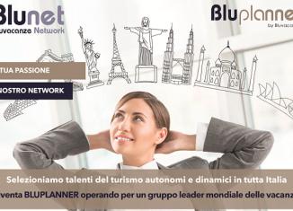 Bluvacanze seleziona 250 personal travel agent
