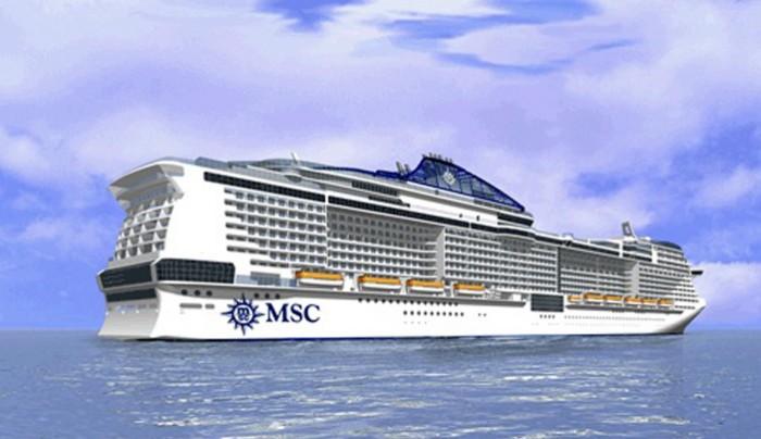 Msc annuncia bellissima nuova nave della classe for Msc meraviglia wiki