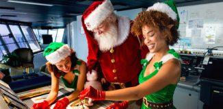 Natale in crociera. Foto RCI