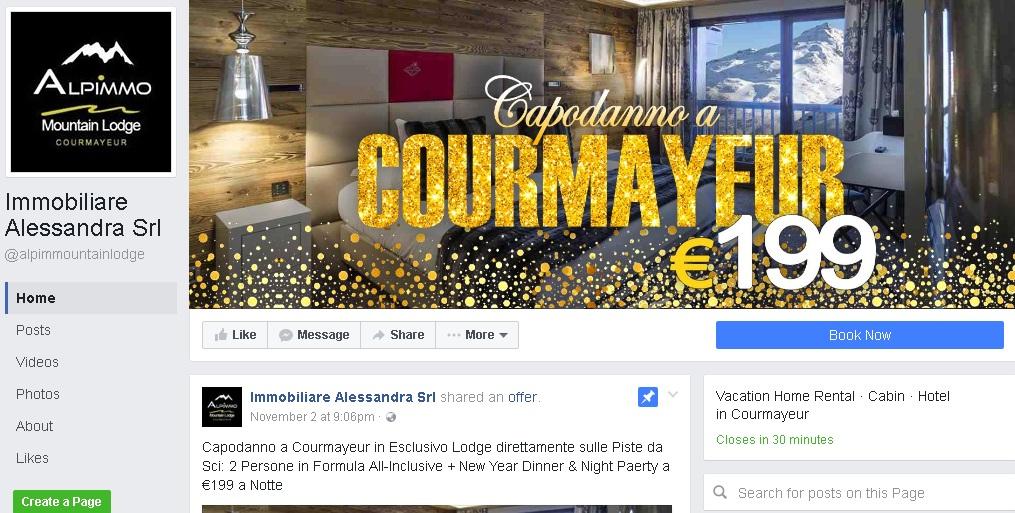 Truffa a Courmayeur: hotel vende camere online con sito e social ma ...