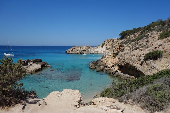 Un scorcio di Ibiza