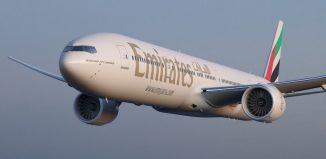 Il B777-300ER di Emirates