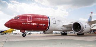 Norwegian, il Boeing 787–8 Dreamliner