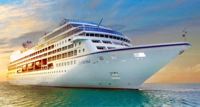 La nave Sirena di Oceania Cruises