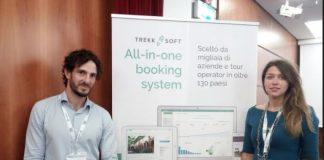 Tommaso Peduzzi, Country Manager Italy TrekkSoft e Alona Mittiga, Italian Marketing Manager - TrekkSoft