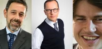 Luca Battifora, Angelo E. Cartelli e Tommaso Bertini di Eden Travel Group