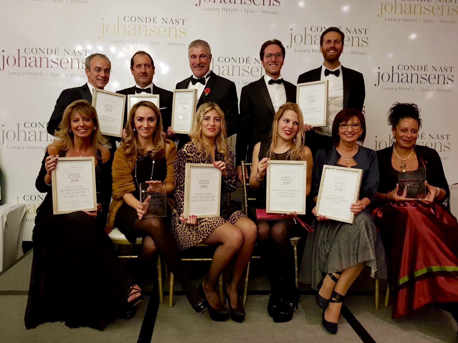 Il gruppo dei vincitori italiani