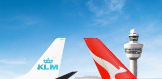 Risultati immagini per KLM e Qantas
